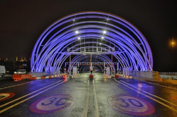Avrasya Tüneli, 4,1 milyon sürücü tarafından 64,5 milyon kez kullanıldı