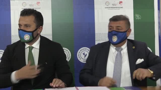 Çaykur Rizespor, teknik direktör Bülent Uygun ile 1,5 yıllık anlaşma imzaladı