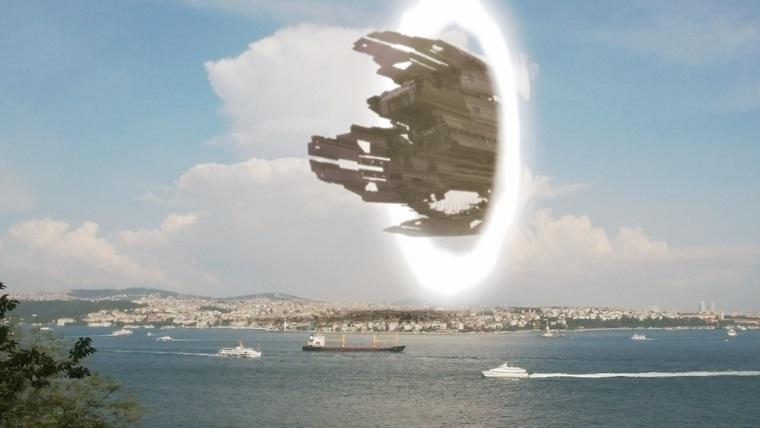 UFO'lar ışınlanıyor mu?